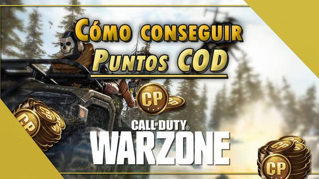 COD Warzone: ¿Cómo conseguir Puntos COD gratis? - LEGAL
