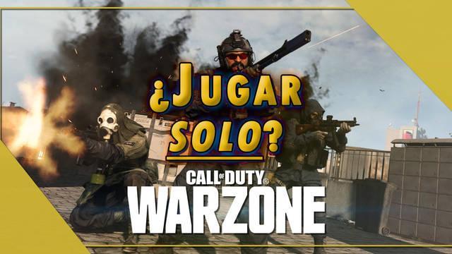 Call of Duty Warzone: ¿Cómo jugar solo en el Battle Royale sin llenar pelotón?