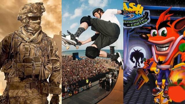 Activision remasteres Modern Warfare 2, Tony Hawk, Crash Bandicoot
