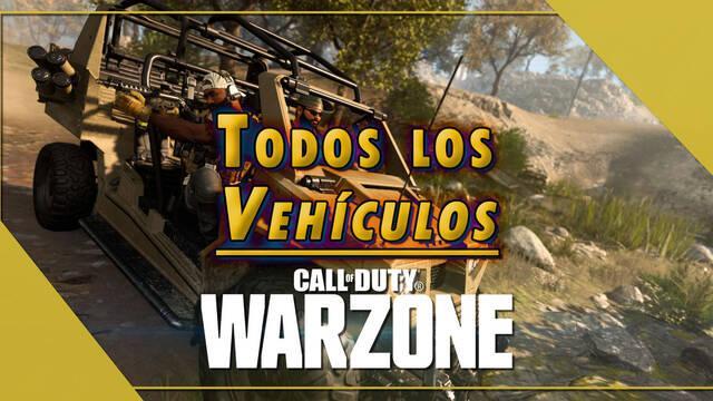 COD Warzone: Todos los vehículos disponibles y consejos para usarlos