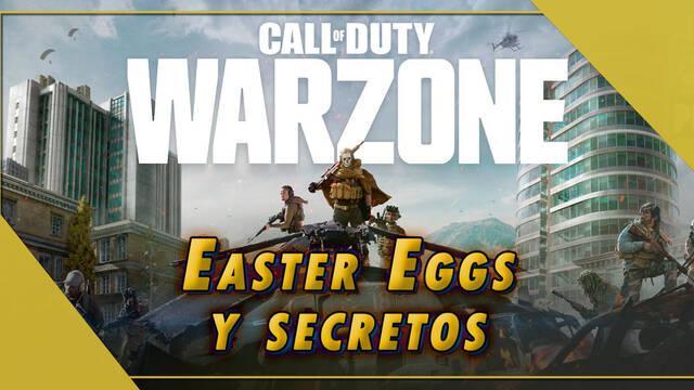 COD Warzone: Todos los Easter Eggs y secretos que quizá no conocías