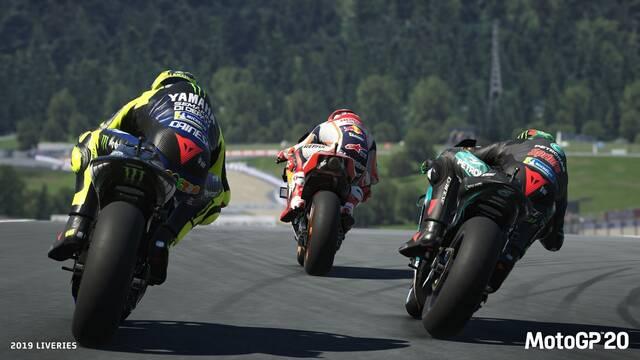 MotoGP 20 muestra su jugabilidad por primera vez.