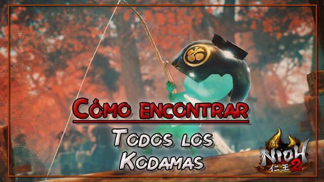 TODOS los Kodamas de la región Crepúsculo en Nioh 2