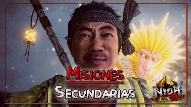 TODAS las misiones secundarias de Nioh 2 y cómo completarlas