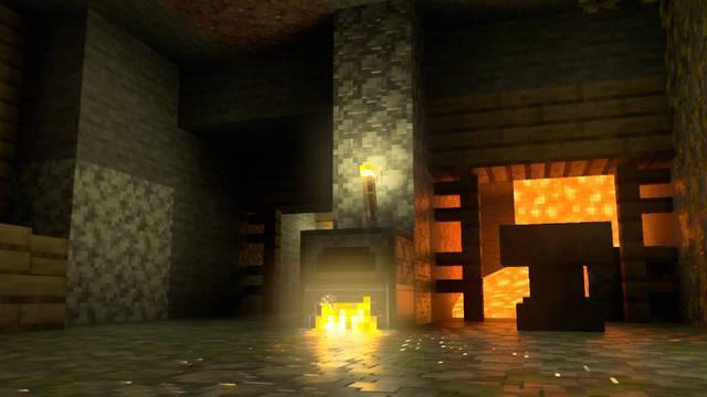 Minecraft Ray Tracing Xbox Series X