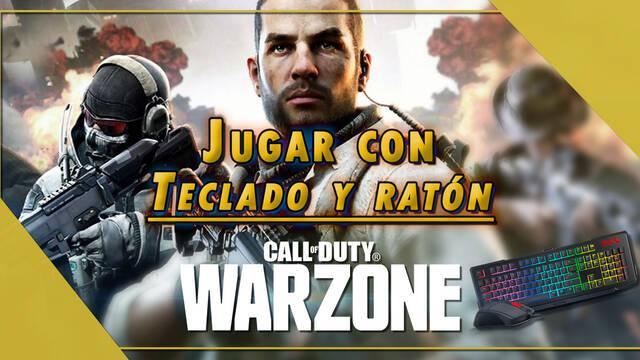 COD Warzone: ¿Cómo jugar con ratón y teclado en PS4 y Xbox One?