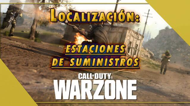 COD Warzone: Localización de todas las estaciones de suministros y qué se compra