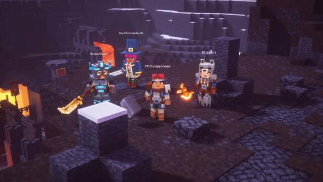 Minecraft Dungeons retraso