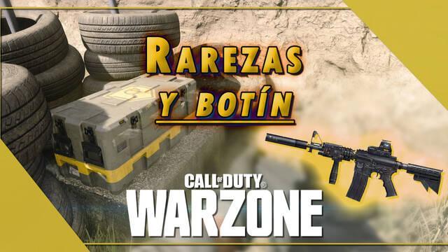 COD Warzone: Rarezas de las armas y sus probabilidades en las cajas de botín
