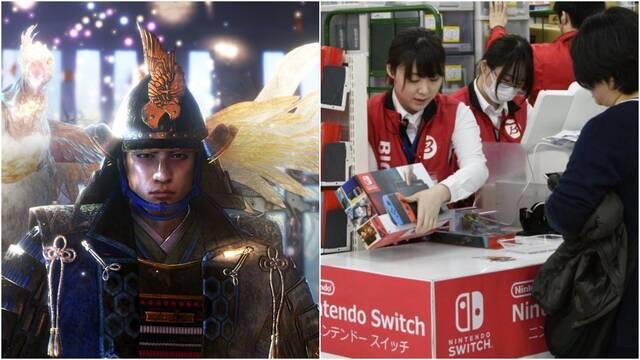 Japón se rinde a Switch y Nioh 2