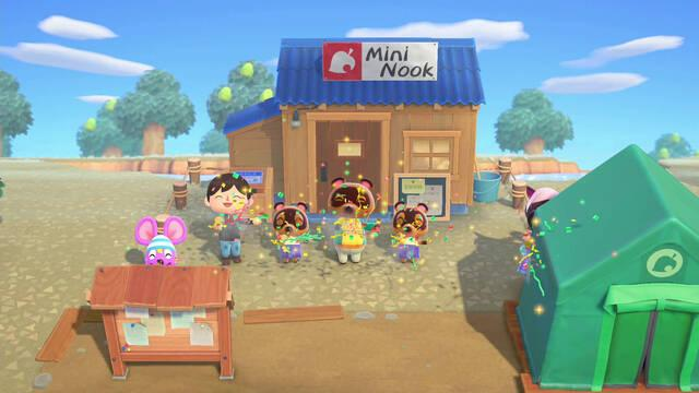Desbloquear y mejorar tienda MiniNook en Animal Crossing: New Horizons