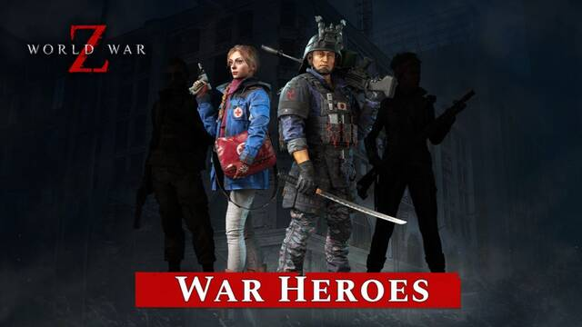 World War Z recibe cross-play y cuatro nuevas skins.