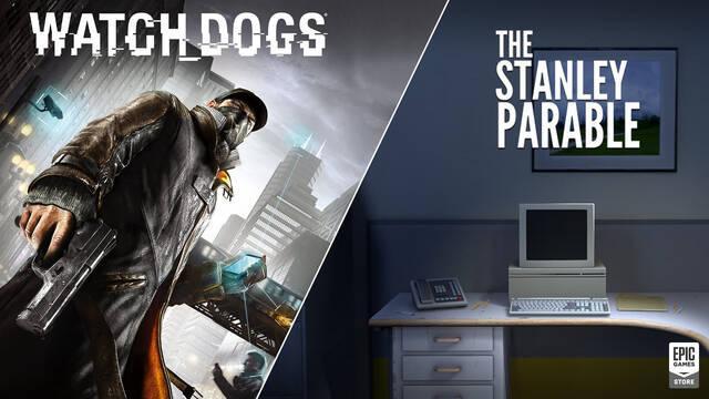 Ya disponibles gratis Watch Dogs y The Stanley Parable en Epic Games Store.