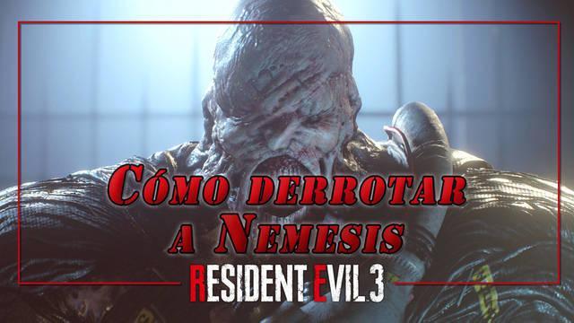 Nemesis en Resident Evil 3 Remake: Cómo derrotarlo, recompensas y combates