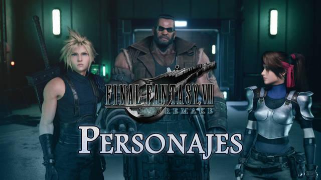 Final Fantasy VII Remake: TODOS los personajes jugables y no jugables