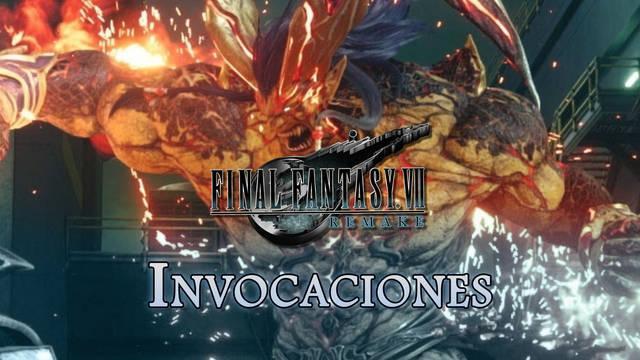 TODAS las invocaciones en Final Fantasy VII Remake y cómo conseguirlas