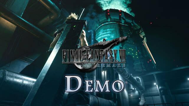 Demo de Final Fantasy VII Remake: plataformas y contenidos