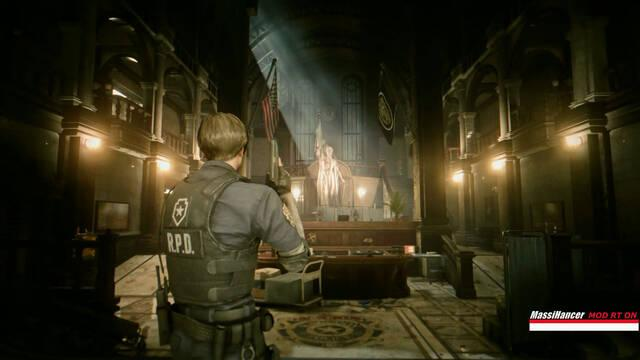 Resident Evil 2 Remake con Ray Tracing