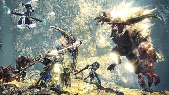 Monster Hunter Iceborne Actualización 3