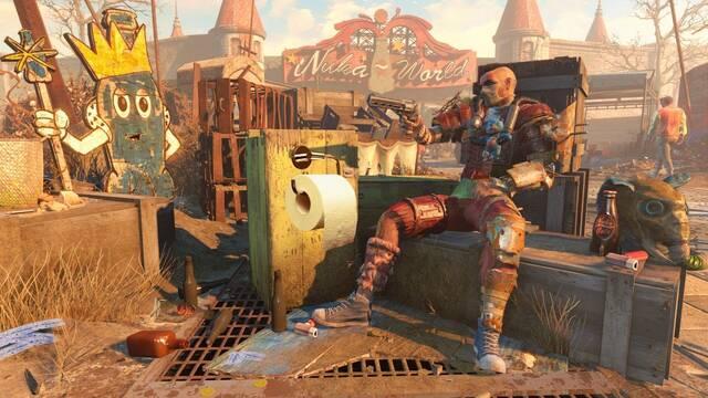 Fallout 4 y mod de papel higiénico