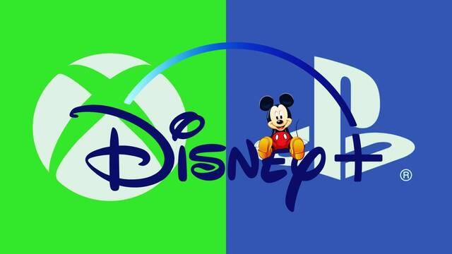 Disney+ en PS4 y Xbox One