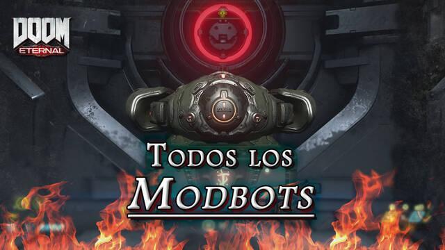 TODOS los Modbots en DOOM Eternal: Localización y dónde encontrarlos