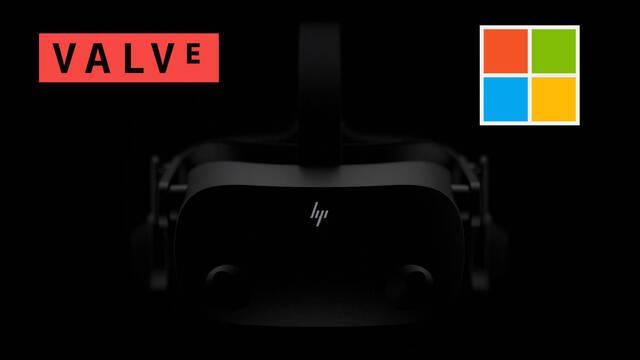 HP VR Steam Valve Microsoft