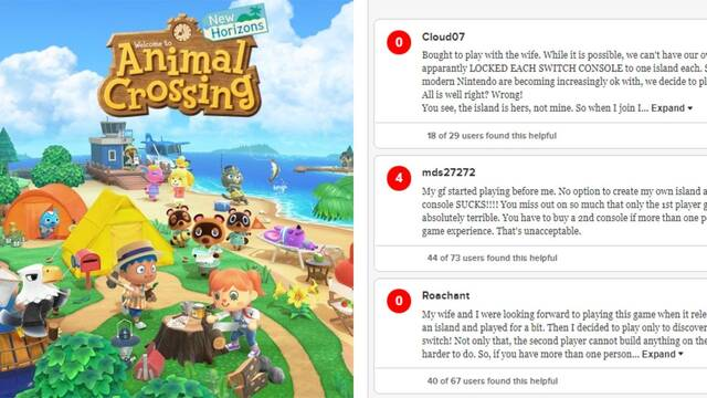 Animal Crossing Review Bombing