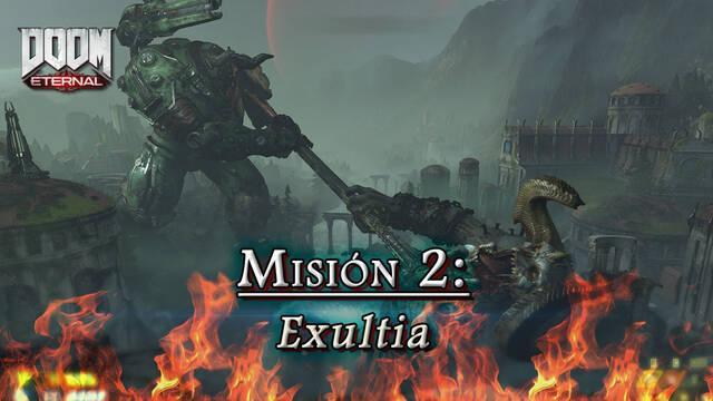 Misión 2: Exultia en DOOM Eternal - Coleccionables y secretos