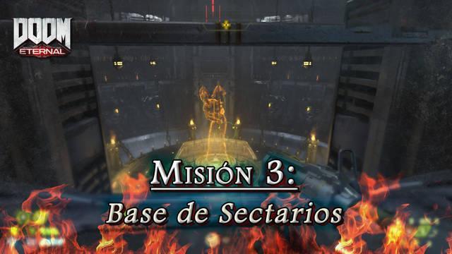 Misión 3: Base de Sectarios en DOOM Eternal - Coleccionables y secretos