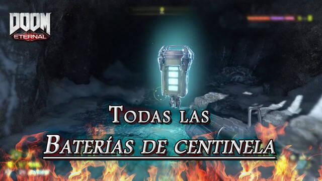 TODAS las Baterías de Centinela en DOOM Eternal: Localización y dónde encontrarlas