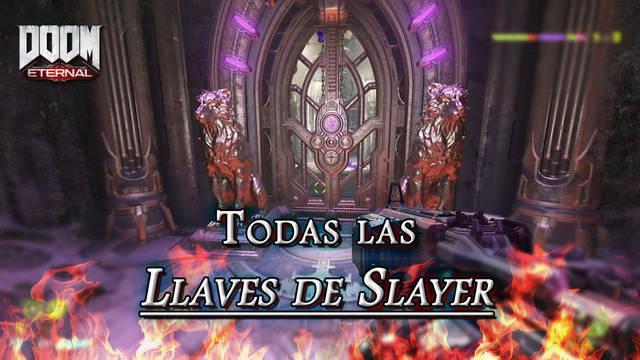 TODAS las Llaves de Slayer y Portales de Slayer en DOOM Eternal: Localización