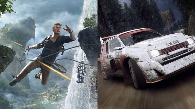 Uncharted 4 y Dirt Rally 2.0 serán los juegos de PS Plus de abril, según una filtración.