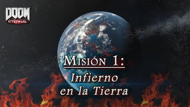 Misión 1: Infierno en la Tierra en DOOM Eternal - Coleccionables y secretos