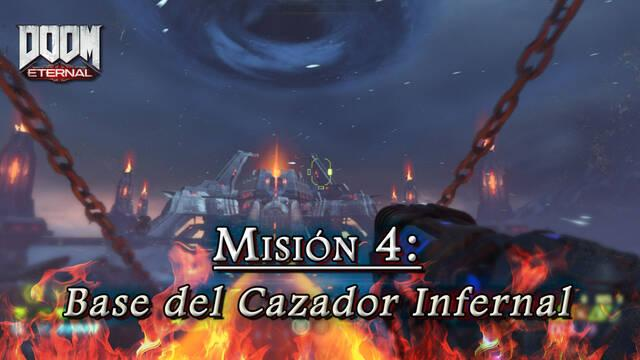 Misión 4: Base del Cazador Infernal en DOOM Eternal - Coleccionables y secretos