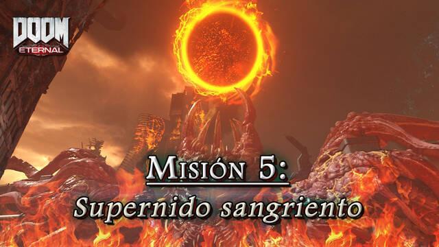 Misión 5: Supernido sangriento en DOOM Eternal - Coleccionables y secretos