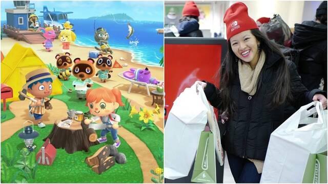 Switch y Animal Crossing arrasan en Japón