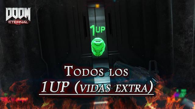 TODOS los 1UP (vidas extra) en DOOM Eternal: Localización y dónde encontrarlos