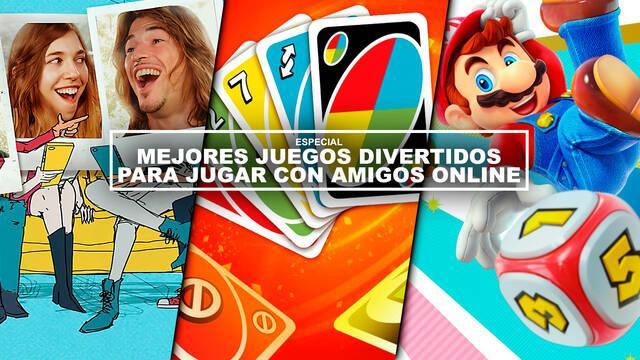 Mejores juegos divertidos para jugar con amigos online