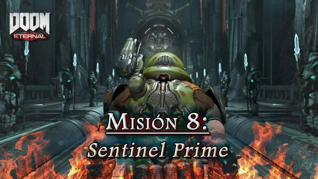 Misión 8: Sentinel Prime en DOOM Eternal - Coleccionables y secretos