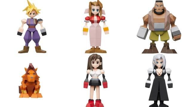 Las figuras de Final Fantasy VII inspiradas en los modelos originales ya se pueden reservar.
