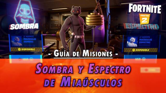 Desafío Fortnite: Misiones de Sombra y Espectro de Miaúsculos - SOLUCIÓN