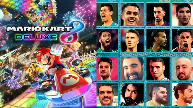 Green Shell Mario Kart Championship enfrentará a futbolistas, youtubers e influencers.