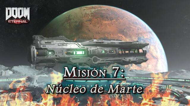 Misión 7: Núcleo de Marte en DOOM Eternal - Coleccionables y secretos