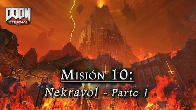 Misión 10: Nekravol - Primera parte en DOOM Eternal - Coleccionables y secretos