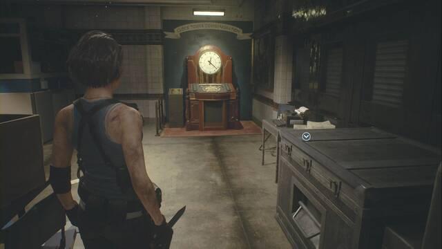 Puzzle de las joyas y el monumento en Resident Evil 3 Remake