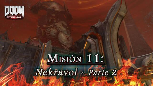 Misión 11: Nekravol - Segunda parte en DOOM Eternal - Coleccionables y secretos