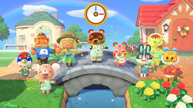 Truco de adelantar el reloj en Animal Crossing: New Horizons