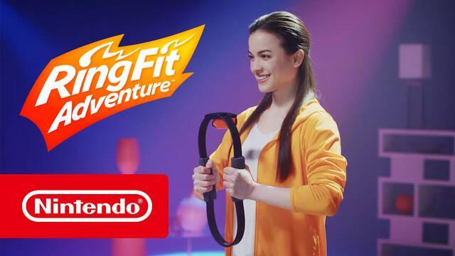Ring Fit Adventure estrena nuevo modo musical.