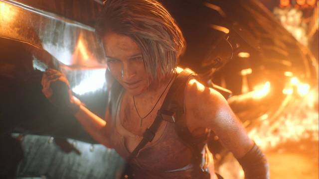 Túneles del metro y plaza del reloj en Resident Evil 3 Remake al 100%